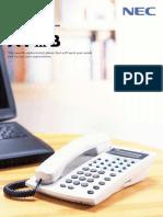 Telefonos Analogico NEC ATIIIB