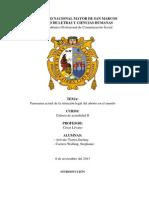 PANORAMA COYUNTURAL DE LA SITUACIÓN LEGAL DEL ABORTO
