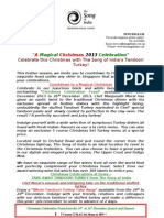 The Song of India Christmas Press Release