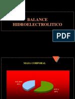 Balance Hidroelectrolitico
