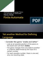 Chapter 5 - Finite Automata