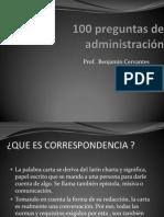 100 preguntas de administración