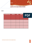 Machote Tabla comparativa bases de datos