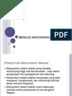 MENUJU MASYARAKAT MADANI.pptx