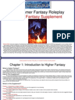 Higher Fantasy Supplement Part 1