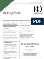 Directors' Briefing