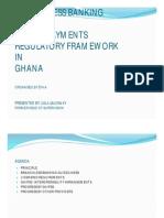 Mobile Payments Dissemination Workshop B of GhanaD Selormey Presentation2