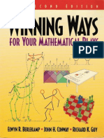 Winning Ways for Your Mathematical Plays - Vol 1
