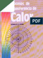 procesos de transferencia de calor, donald q kern, cecsa, 1a edición