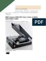 Computers Lenovo