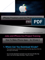iPhone Freshers and live Project training.pptx