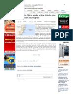 SiteBarra » Presidente Dilma alerta sobre divisão das receitas com municípios
