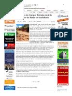 SiteBarra » Caminhos do Campo_ Estrada rural de Água Doce do Norte será asfaltada