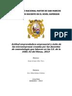 PROYECTO DE TESIS PARA MAESTRÍA Y DOCTORADO