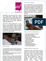 Front Line Sms Brochure