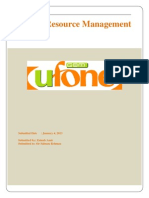 UFONE report -final hr project.docx
