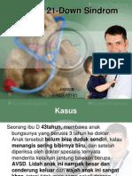 Trisomi 21-Down Sindrom