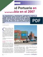 Actividad Portuaria en Colombia en El 2007