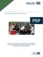 User Manual Clinical Reasoning