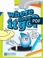 Where does it go? Wally Waterdrop activity book