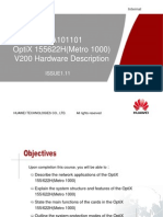 OTA101101 OptiX 155622H(Metro 1000) V200 Hardware Description ISSUE1.11.ppt
