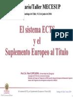 El Sistema ECTS y El DS