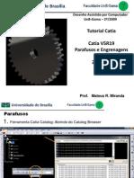 Tutorial Catia - Parafusos e Engrenagens Light