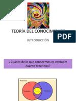 LA TEORÍA DEL CONOCIMIENTO 2