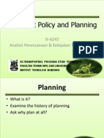 Kul-1-Transport Policy and Planning