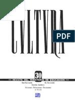 Revista Cultura 30