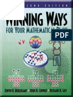 Winning Ways for Your Mathematical Plays - Vol 3