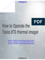 Testo 870 Instruction Manual