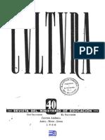 Revista Cultura 40