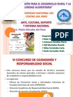 VI y VII Concurso de Ciudadanía y Responsabilidad