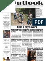Outlook Newspaper - United States Army Garrison - 6 August 2009 - Caserma, Ederle, Italy - IMCOM