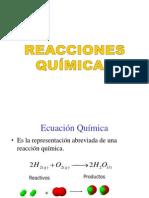 8. Reacciones I (Reacciones Químicas)