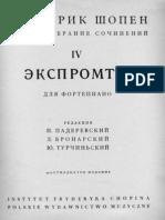 Chopin Impromptu No1 Paderewski