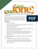 Swot Analysis- Ufone