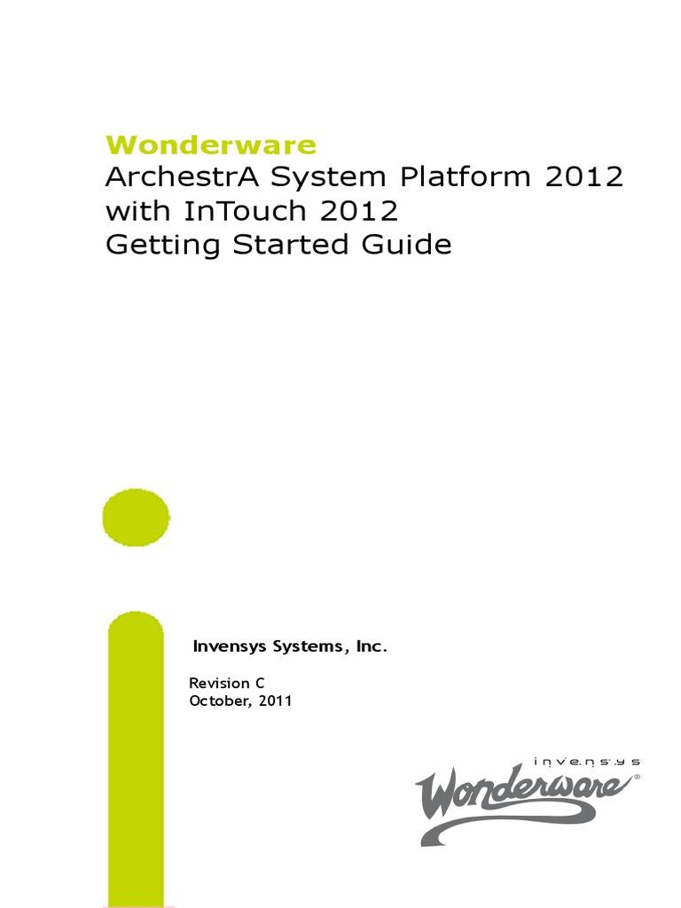 SystemPlatformGettingStarted.pdf | Internet Information Services | Web  Server