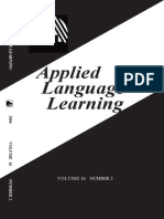Applied Language Learning @
