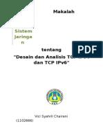 Makalah ADSL - Kelompok 5 - Analisis Dan Desain TCP IPv4 Dan IPv6