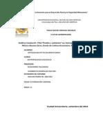 RAÍCES BIOLÓGICAS DEL COMPORTAMIENTO HUMANO Y DE LA CULTURA- Lectura 03