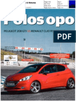 "NOVO RENAULT CLIO R.S. 200 EDC FRENTE AO PEUGEOT 208 GTI NA ""CARROS & MOTORES"""