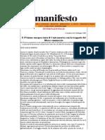 E l'UE tenta il Centramerica con la trappola del libero commercio, Internazionale 28 maggio 2008  José Carlos Bonino