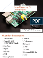 Joomla! on Raspberry Pi using Nginx - Keynote at Joomla World Conference 2013