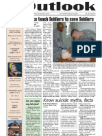Outlook Newspaper  -5 March 2009 - United States Army Garrison Vicenza - Caserma, Ederle, Italy