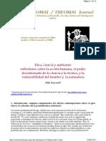 Tancredi 2005. Etica, Ciencia y Ambiente