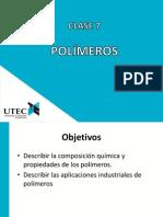 Clase07-Polimeros
