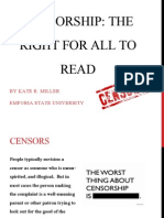 Kate Miller Censorship