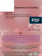 5 7  solving equations by factoring